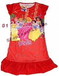 Áo váy đầm Disney cho bé từ  3-8 tuổi có nhiều màu, nhiều kiểu, nhỉều size