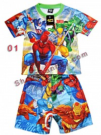 o qun Cartoon b trai -  Ben 10 v Movie Hero  (Size S - M)