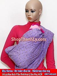 700 - Hanmade địu võng màu tím