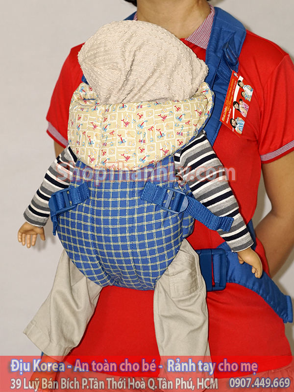 980 - Disney baby xanh sọc caro